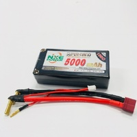 NXE 7.4v 5000mah 100c Shorty HC 5mm/Dean