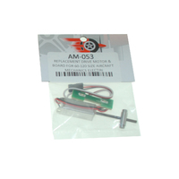 REPLACEMENT DRIVE MOTOR & BOARD FOR 60-120 SIZE AIRCRAFT MECHANICS ELECTRI