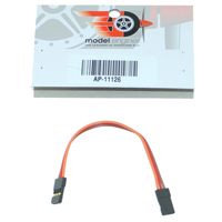 JR 10cm PATCH LEAD (MALE BOTH ENDS)