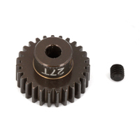 FT Aluminum Pinion Gear, 27T 48P, 1/8 shaft