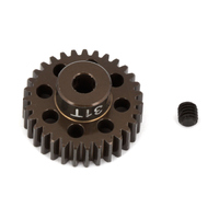 FT Aluminum Pinion Gear, 31T 48P, 1/8 shaft