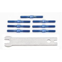 Blue Titanium Turnbuckle Set