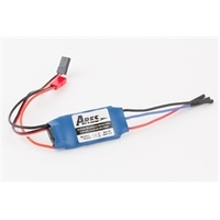 ARES AZS1410 15-AMP BRUSHLESS MOTOR ESC. JST CONNECTOR: P-51D MUSTANG 350