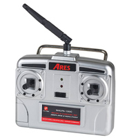 ARES AZSA1838 HITEC RED 4-CH TRANSMITTER W/100MA CHARGER: FOKKER DVII