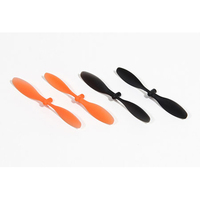 ARES AZSQ17181 PROPELLER/ROTOR BLADE SET (2 ORANGE. 2 BLACK ): SPIDEX
