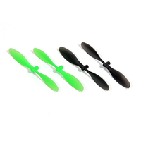 ARES AZSQ17182 PROPELLER/ROTOR BLADE SET (2 GREEN. 2 BLACK): SPIDEX