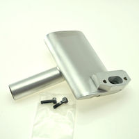 BISSON OS GT 33 PITTS TYPE  MUFFLER TO SUIT SEAGULL NEMESIS