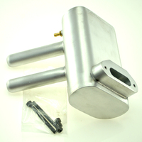 O.S. 120 AX HIGH VOLUME PITTS MUFFLER