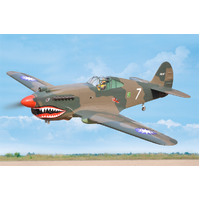 P-40C Tomahawk ARTF New 2020 , 60CC gas  (including Electrict Retract )  (covered with HEAT-SHRINK FILM WITH PRINTED)