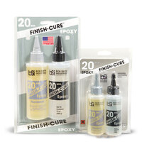 Finish Cure Epoxy 20min. 4.5oz ***