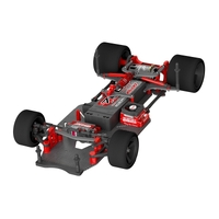 Team Corally - SSX-10 Car Kit - Chassis kit only, no electronics, no motor, no body, no tires