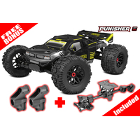 Team Corally - PUNISHER XP 6S - 1/8 Monster 286,50 Truck LWB - RTR - Brushless Power 6S No Battery - No Charger