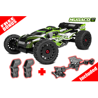 Team Corally - 2021 version MURACO XP 6S - 1/8 Monster Truck SWB - RTR - Brushless Power 6S - No Battery - No Charger