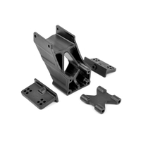 Team Corally - Wing Mount - V1 - Adjustable - Composite - 1 Set
