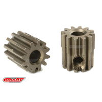 Team Corally - M0.6 Pinion - Short - Hardened Steel - 12 Teeth - Shaft Dia. 3.17mm