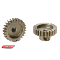 Team Corally - M0.6 Pinion - Short - Hardened Steel - 25 Teeth - Shaft Dia. 3.17mm