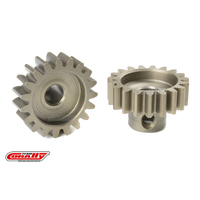 Team Corally - M1.0 Pinion - Short - Hardened Steel - 19 Teeth - Shaft Dia. 5mm