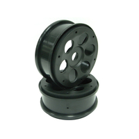 GV C08B02BA CIRCLE  WHEEL  BLACK  2PCS