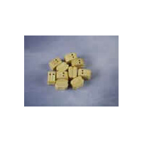 Double Block, 6mm Natural (10)