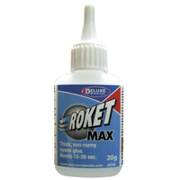 DELUXE MATERIALS AD45 20g ROKET MAX (THICK) CA DISPLAY BOX OF 12
