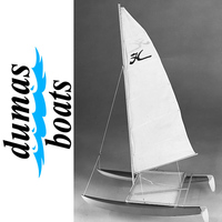 DUMAS 1101 HOBIE CAT  14 INCH SAILBOAT KIT