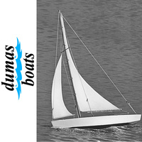 DUMAS 1102 ACE SLOOP  17 INCH SAILBOAT KIT
