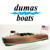 DUMAS 1234 1940 CHRIS-CRAFT BARREL BACK  28 1/2 INCH KIT