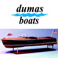 DUMAS 1249 1949 CHRIS-CRAFT RACER  28 INCH KIT