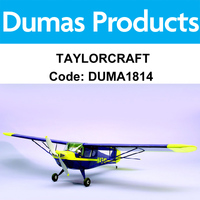 DUMAS 1814 40 INCH TAYLORCRAFT R/C ELECTRIC POWERED