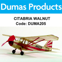 DUMAS 205 CITABRIA WALNUT SCALE 17.5 INCH WINGSPAN RUBBER POWERED