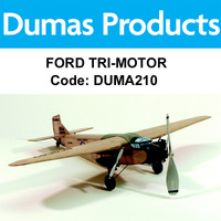 Ford Tri-Motor - Over 50 Laser Cut Parts.