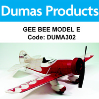 DUMAS 302 GEE BEE MODEL E 30 INCH WINGSPAN RUBBER POWERED