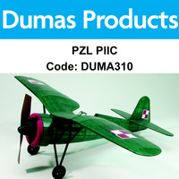 DUMAS 310 PZL PIIC 30 INCH WINGSPAN RUBBER POWERED