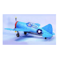 DUMAS 320 BREWSTER F2A-3 BUFFALO 30 INCH WINGSPAN RUBBER POWERED