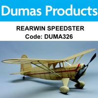 DUMAS 326 REARWIN SPEEDSTER KIT 30 INCH WINGSPAN RUBBER POWERED