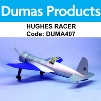 DUMAS 407 WINGSPAN HUGHES RACER 30 INCH WINGSPAN RUBBER POWERED