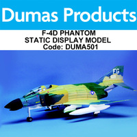 DUMAS 501 18 INCH WINGSPAN F-4D PHANTOM STATIC DISPLAY MODEL