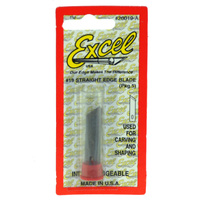 EXCEL 20019A STRAIGHT EDGE BLADE (PKG OF 5)
