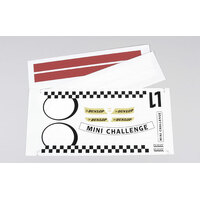 Sticker Set Mini Cooper