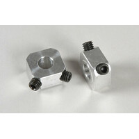 Alum Square Wheel Driver 9,5mm/M6, 2pcs.
