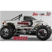 Monster Truck 535mm 2WD, RTR, white body