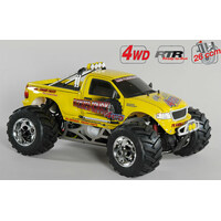 Monster Truck WB535 4wd RTR Yellow