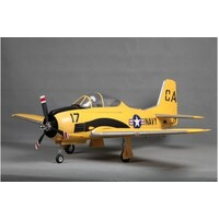 *T-28D Trojan V4 1400mm Yellow PNP