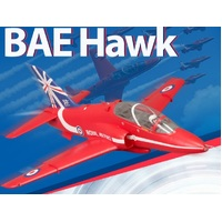BAE HAWK 80mm Ducted Fan Jet PNP (Now with Reflex)