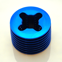 FORCE 12 BLUE CYLINDER HEAD  FOUNDRY HEAD