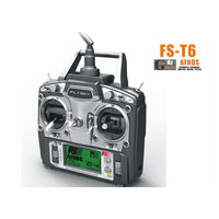 Flysky T6 2.4G 6 Channel Radio & Reciever system  Quadcopter/Helicopter/Airplane