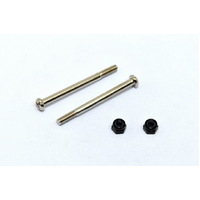 Half Thread Screws 3*37Mm And Nylon Nut