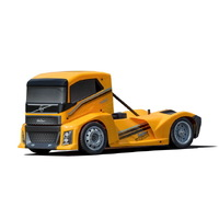 Hyper EPX 1/10 Semi Truck On-Road ARR, Yellow Paint body (Requires all electronics)