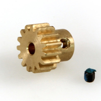 HELION HLNA0063 PINION GEAR. 15T. 32P. BRASS
