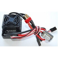 HOBBYWING WATER PROOF BRUSHLESS ESC 45A TAMIYA CONNECTOR WP-S10E-RTR